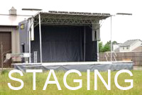 Stage rental chicago, Staging, Rental equipment