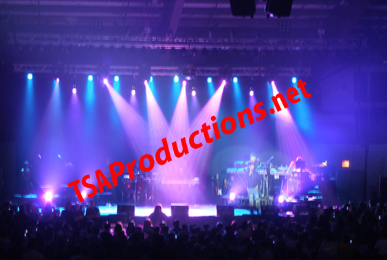 Chicago area concert sound and lighting rental done by TSA Productions.