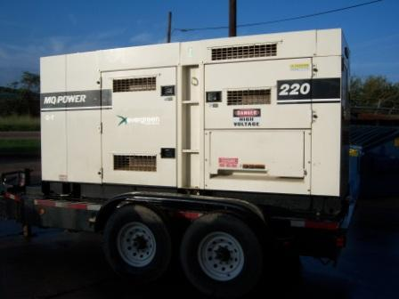 Generator Rental TSA Productions